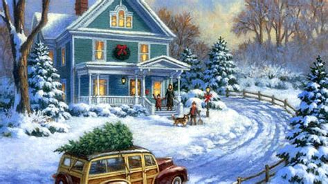 images of christmas paintings christmas painting hd wallpapers christmas wishes