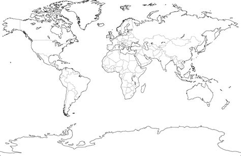 blank world map pdf geography 10