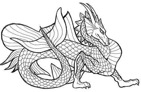 coloring page of dragon dragon printable coloring pages coloring home