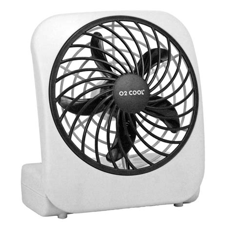 battery operated fan o2cool 5 in battery operated portable fan fd05004 the