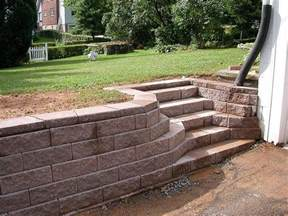 Retaining Wall Stairs Design Retaining Wall Steps Retaining Walls