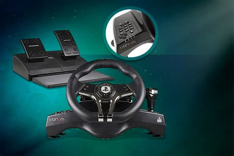 Hurricane Steering Wheel For Ps4 And Ps3 Playstation Wheel Ps4 Ps3 Official Wheel