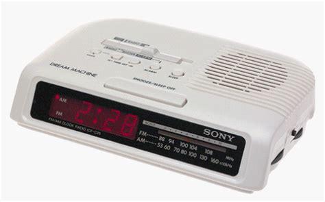 sony machine am fm radio alarm clock icf c25