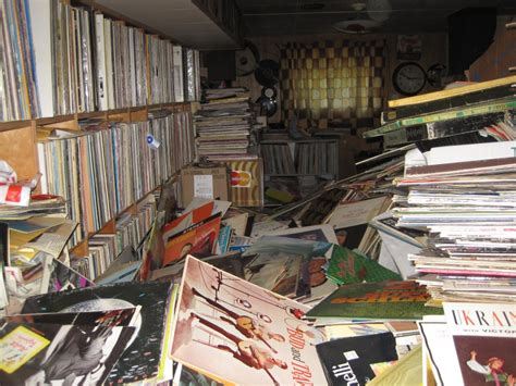 house record store buys hoarder house collection of 250 000