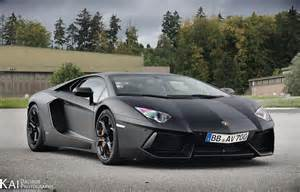 Black Lamborghini Lamborghini Aventador Matte Black Image 560