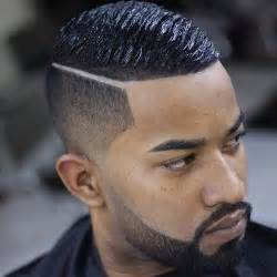 hair cut with a defined point in the back cozy short haircuts for black men men s hairstyles and