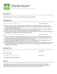 modern resumes templates 15 modern design resume templates you can use today