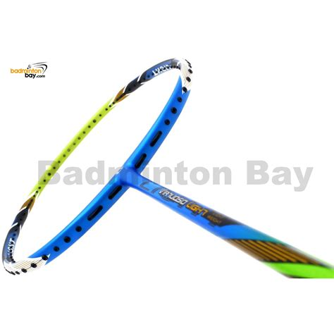 apacs virtuoso light review apacs virtuoso light blue green badminton racket 6u edge