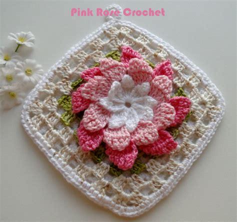 Window Hook 8 Motif crochet floral motif hook