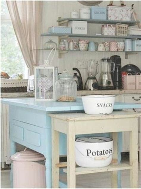 32 sweet shabby chic kitchen decor ideas to try shelterness 32 sweet shabby chic kitchen decor ideas to try shelterness