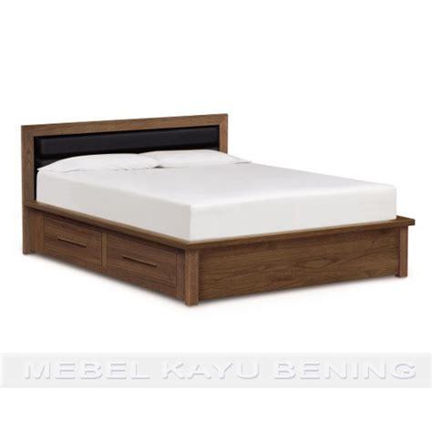Tempat Tidur Kayu Ramin tempat tidur kayu jati model minimalis