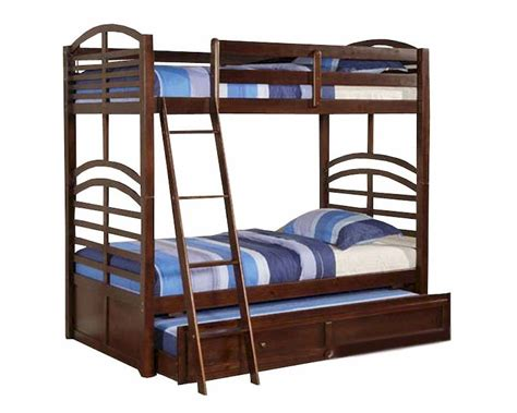 espresso bunk bed acme furniture twin over twin bunk bed in espresso ac10155