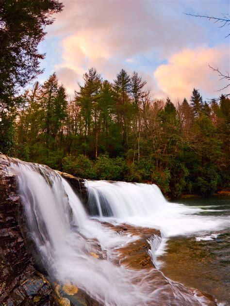 hooker falls dupont state recreational forest