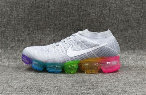 Nike Air Vapormax Be True Running Premium white orange womens nike vapormax shoes