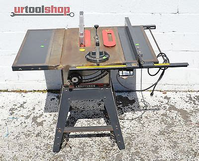craftsman table saw model 113 craftsman 113 298240 10 table saw 8569 1 what s it worth