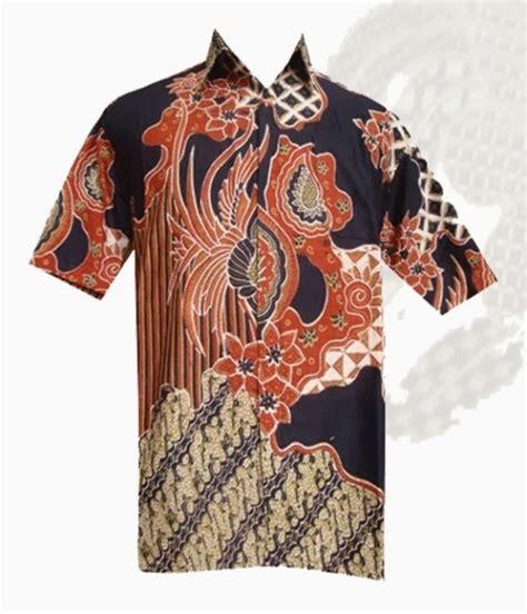 Kemeja Batik Parang Modern Gradasi Maroon batik motif polos images