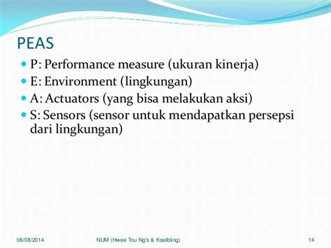 Performance Measurement Ukuran Kinerja 23 intelijensia buatan 02 agen cerdas