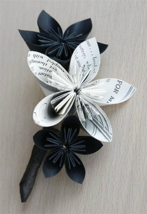 Origami Boutonniere - diy origami 10 neat project ideas 187 the makers collective