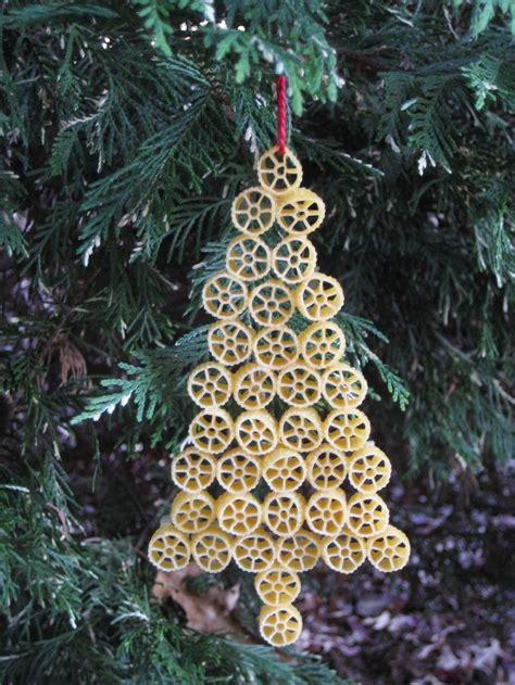 christmas tree pasta ornament teaching ideas pinterest