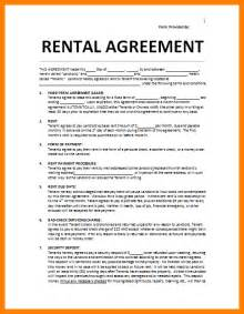Agreement Letter For House Rent 10 House Rental Agreement Template Assembly Resume