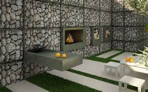 16 fantastic gabion designs for your outdoor experience