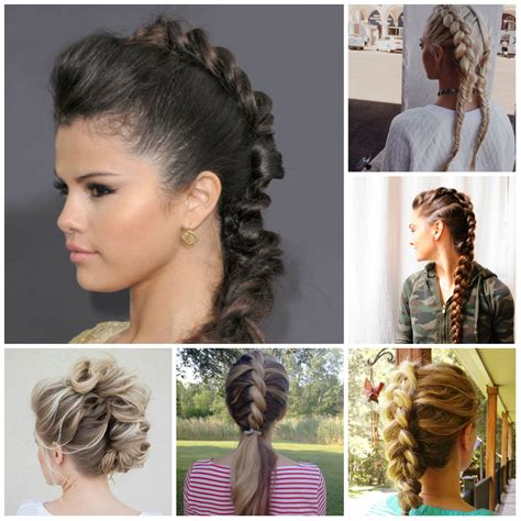 Mohawk Braiding Hairstyles by Creative Mohawk Braid Hairstyle Ideas For 2016 2017