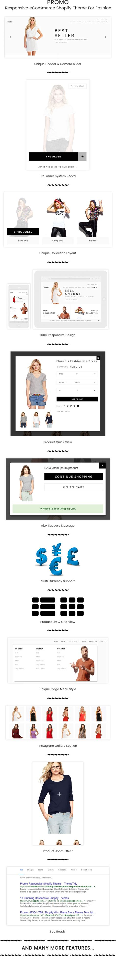 shopify themes discount promo multipurpose responsive ecommerce shopify theme