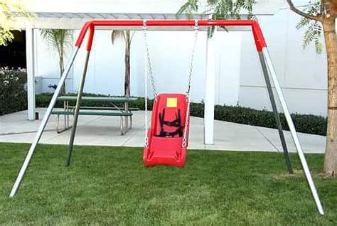 adaptive swings special needs swing set 1 seat