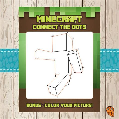 printable minecraft quiz printable minecraft connect the dots game minecraft
