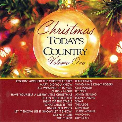 artists who sang rocking around the christmas tree today s country by various artists napster