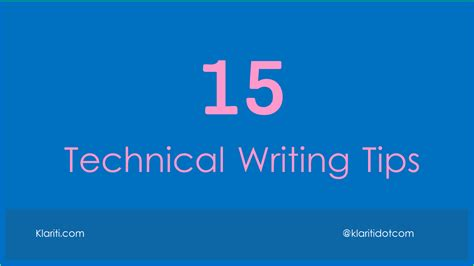 technical writing fix mistakes in technical documents