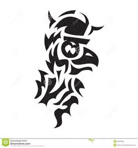 bird viking tattoo stock vector image 48323365