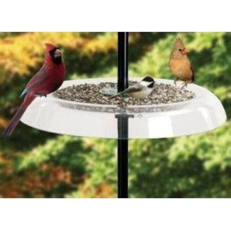 droll yankees giant seed tray 18 5 quot bird feeder seed tray