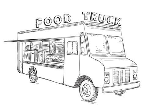 food truck design drawing blank food truck drawing www pixshark com images