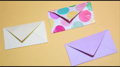 How To Make A Paper Envelope Without Glue - origami origami money envelope letterfold tutorial fold