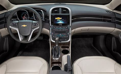 2015 Malibu Interior by Car And Driver