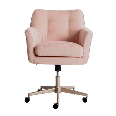 pink office chairs youll love wayfair