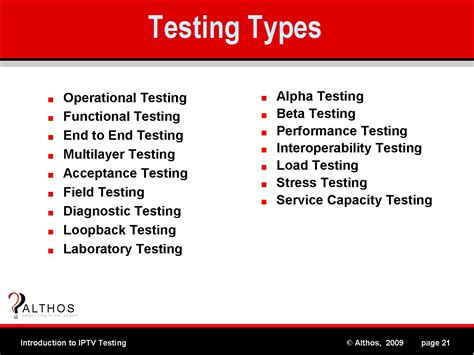 type test different types of testing techniques images frompo