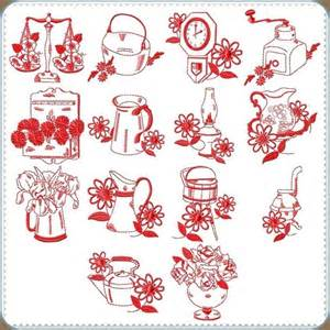 Kitchen Embroidery Designs Free Machine Embroidery Designs Affordable Great Quality Country Kitchen Redwork