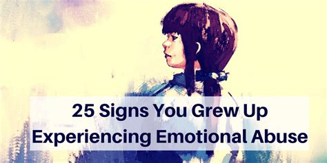 7 Signs That You Grew Up In The 80s by Signs You Grew Up Experiencing Emotional Abuse The Mighty