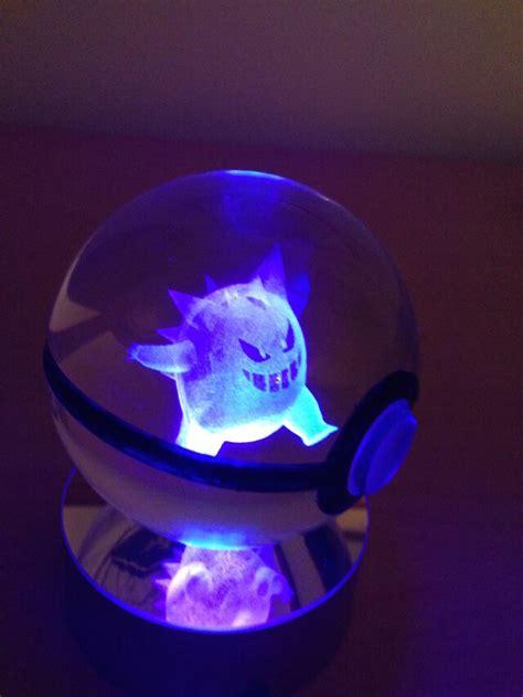 Light Up Pokeball by Pokeballs With Glowing Inside Geekologie