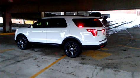 ford explorer light feniex interior light bar installed on 2017 ford explorer