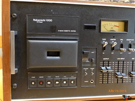nakamichi 1000 cassette deck nakamichi 1000 cassette deck photo 815822 us audio mart
