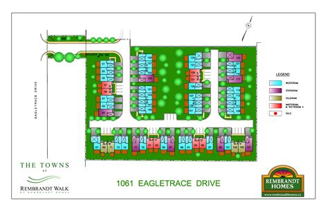 the towns at rembrandt walk new home community