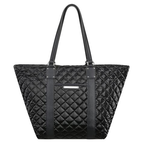 Nine West Quilted Tote by Nine West The Spaces Between Quilted Tote Bag In Black Lyst