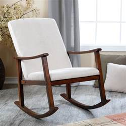 Nursery Room Rocking Chairs Upholstered Rocking Chairs On