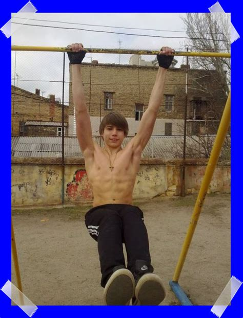 Ukrainian Sportlad 18 Years Old | moved temporarily