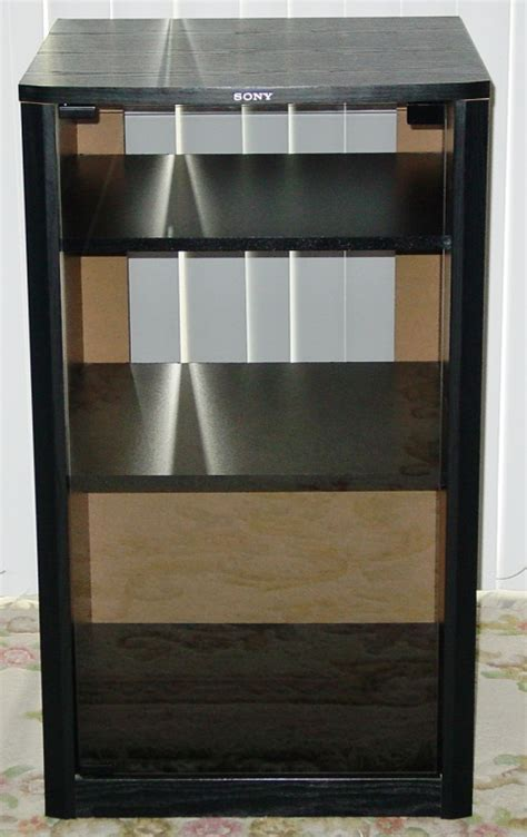 sony cabinet with a glass door for sale canuck audio mart