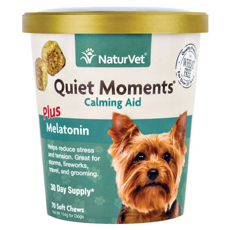 calming chews for dogs naturvet moments calming aid soft chews petco store