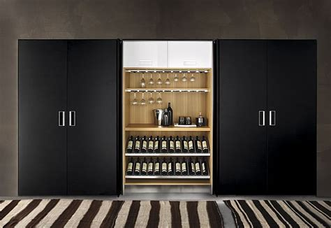 Great Kitchen Storage Ideas The Pocket Cabinets From Arclinea
